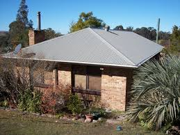 colourbond hip roof evening haze roof roofmaterials colorbond