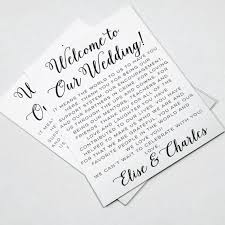 Wedding Itinerary For Guests Blog U2014 D Johnson U0026 Co Events