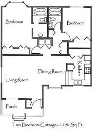 two bedroom cottage floor plans two bedroom cottage house plans home deco plans