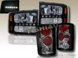 2002 ford excursion tail lights ford excursion black headlights smoke tail lights 2000 2001 2002