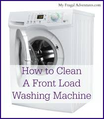 How To Clean A Whirlpool Dishwasher Drain How To Clean A Front Load Washing Machine My Frugal Adventures