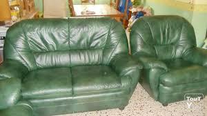 canap cuir vert canap cuir vert canape cuir vert fonce pour la vente canape simili