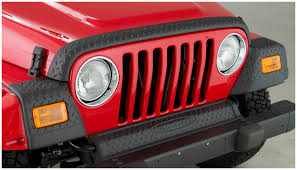 matte red jeep jeep trail armor hood stone guard set oe matte black 14005