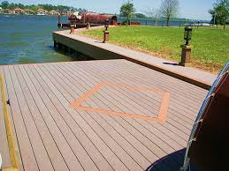 stunning herringbone pattern dock design by duane marine