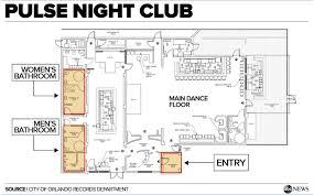 nightclub floor plan three hours of horror inside the orlando