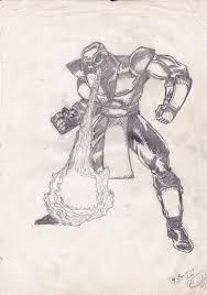 old sketch of mk scorpion by mizter rootbeer on deviantart