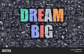 dream big multicolor concept on image u0026 photo bigstock