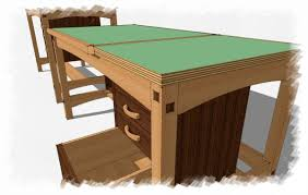 Split Top Drafting Table Plywood Edge Creating A New Material In Sketchup Finewoodworking