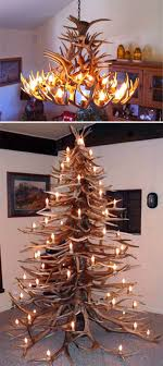 deer antler christmas tree using real antlers to build christmas trees that last forever