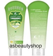 Scrub Gel roushun cucumber and scrub gel 200ml asbeautyshop
