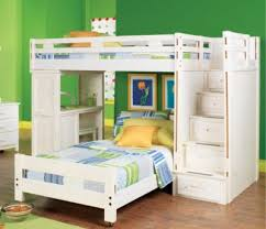 Kids Bunk Bed Desk Creekside Stone Wash Twin Twin Step Bunk Bed With Desk Bunk Loft