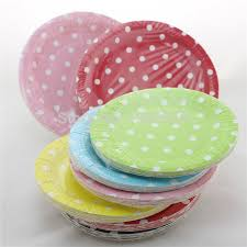 paper plates wholesale 120pcs 7 small paper plates polka dot plates baby