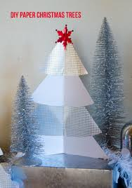 diy paper christmas tree by love the day love the day