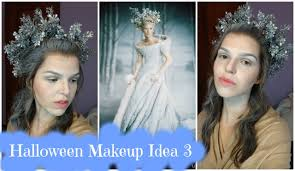 halloween makeup idea 3 the white witch narnia youtube