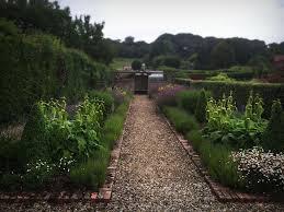 woolaston herbacious borders garden maintenance gravel path brick