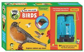 look and learn birds pbs kids sarah parvis 9781941367292