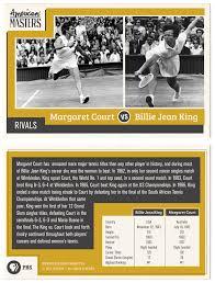Trading Card Designer Billie Jean King Infographics Billie Jean King Trading Cards