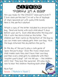 Games To Play In Christmas Parties - christmas party in a bag by natalie u0027s nook teachers pay teachers