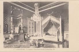chambre napoleon 3 compiegne compiégne le chateau chambre à coucher de