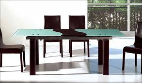 Dining Room Sets Glass Table by Dining Room Round Glass Dining Table Set For 4 Wood And Glass