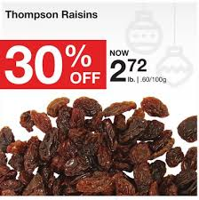 Bulk Barn Leaside Thompson Raisins On Sale Salewhale Ca