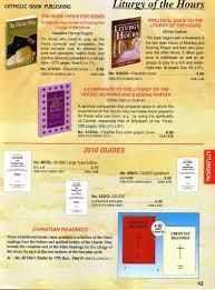 catholic book publishing company liturgy of the hours catholic book publishing company