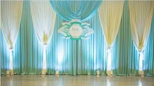 wedding backdrop curtains aliexpress buy express free ship new design blue