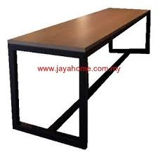 metal desk with laminate top bar table high metal table leg with laminate top alunimuim top