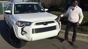 toyota 4runner 2017 white 2015 toyota 4runner xp at rice toyota greensboro nc youtube
