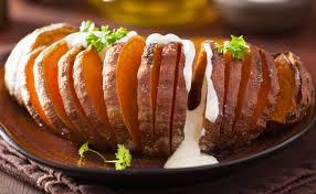 patate douce cuisiner patate douce rôtie à la suédoise wecook