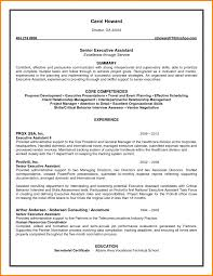 Sample Resume Objectives Human Resources by Sample Executive Assistant Resume Objective Best Example