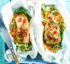 cuisine papillote soy salmon en papillote recipe food