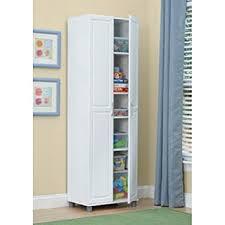 24 inch kitchen pantry cabinet amazon com white 24 inch 2 door storage cabinet kitchen pantry