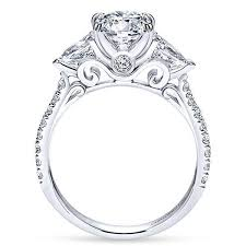 engagement ring setting oval and pear shape 3 engagement ring freedman jewelers