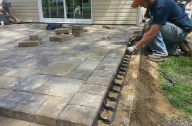 Laying Patio Slabs Making A Patio With Slabs Diy Extending Concrete Patio With Pavers