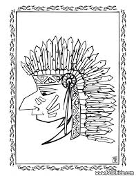 american n coloring page wecoloringpage pages print out indian