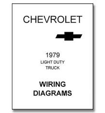 1979 chevy truck wiring diagram ebay