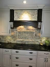kitchen with stone backsplash home decoration ideas