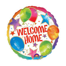 welcome home balloons delivery welcome home and balloon