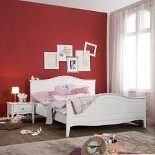 Schlafzimmer Bett Mit Komforth E Bett Aus Der Serie Giselle In Weiß 140 X 200 Cm Home24