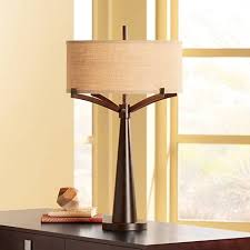 Iron Table Lamps Tremont Bronze Iron Table Lamp 4t410 Lamps Plus