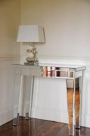 Mirrored Console Table Portofino Contemporary Mirrored Dressing Table Console Table With