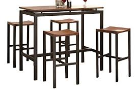 amazon com coaster home furnishings 150097 5 piece casual dining
