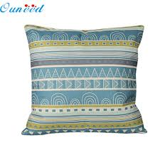 drop shipping home decor my house sale vintage geometric linen throw pillow case