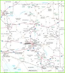 Road Map Arizona by Arizona On Map Of Us Stuning World Phoenix Az Evenakliyat Biz