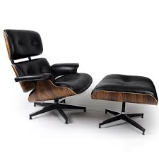 Best Leather Chair And Ottoman Outstanding Eames Lounge Chair And Ottoman White Leather For Eames