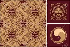set of oriental design elements royalty free cliparts vectors