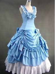 and white civil war southern belle dress prom tea party vintage