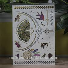 metal tattoo stickers metal tattoo stickers suppliers and