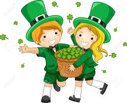 child clipart st patricks day pencil and in color child clipart